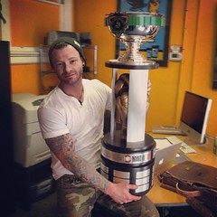 """Catch me ringside at the Donnybrook Ambassadors cup tonight on PCNC - I got to hold the cup last week when it first hit Pittsburgh. This thing is heavier than Lord Stanley's. Snippets of my new #ycach video will be airing tonight during commercial breaks! • <a style=""""font-size:0.8em;"""" href=""""https://www.flickr.com/photos/62467064@N06/13222984115/"""" target=""""_blank"""">View on Flickr</a>"""