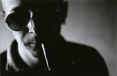 (MatteoDiEffe) Tags: portrait people blackandwhite bw film blackwhite shadows films bn filmcamera ilford yashic