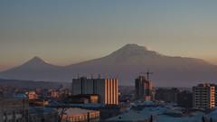 Mountain Ararat, view from Saralanj ave., Yerevan, Armenia (ghardashyan) Tags: nikon armenia coolpix yerevan ararat    p330     saralanj saralanji