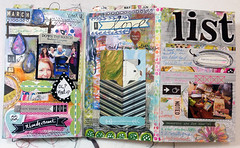 The Documented Life Project Week Twelve planner/journal pages. (Roben-Marie) Tags: moleskine mixedmedia journal planner robenmarie moleskineplanner thedocumentedlifeproject arttothe5th