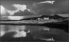 Reflect (Pete Rowbottom, Wigan, UK) Tags: uk blackandwhite storm reflection church water monochrome composition contrast poster coast scotland still interesting artwork moody arty britain postcard exploring highcontrast scottish fave canvas explore highland coastal serenity impact advert getty coastline unusual dslr favourite istock blacknwhite calmac interest impressive kirk beautful stormclouds uist hebrides waterreflections outerhebrides stockimage lochmaddy northuist highlandsandislands uists highlandsofscotland ukcoast scotlandlandscape scotlandcoast uklandscape ukcoastline coastlineuk scotlandscoast availableforlicense photographymono pete37038 highlandinteresting moodyscotland britainscoastline peterowbottom scotland2014 lochmaddychurch