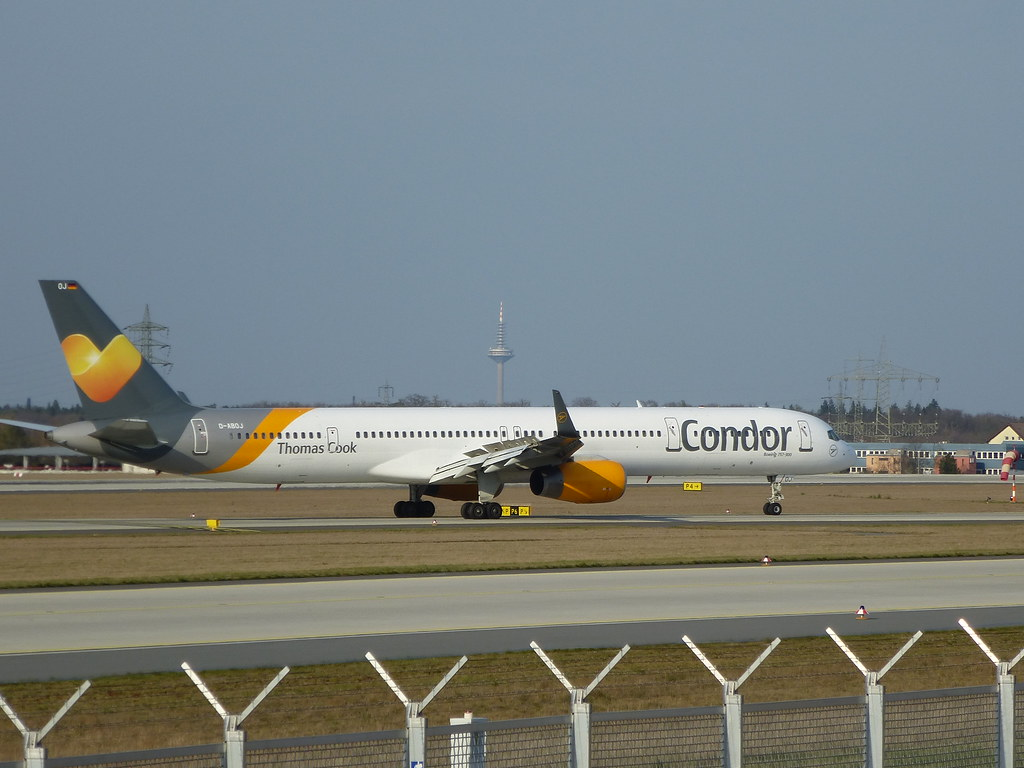 Condor Boeing 757-300 by m_oder_so, on Flickr