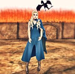 Dracarys (Ashlene McMinnar (Blogger & Photographer)) Tags: fashion ga blog secondlife aisling ikon league birdy alchemy daenerys slink gameofthrones monso thesecretaffair fateplay we3roleplay