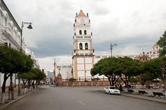 The Metropolitan Cathedral of Sucre, Bolivia