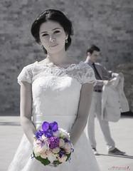 bride (aniribe) Tags: wedding nikon bride flowers white love faces portrait happy weddingday happiness outdoor