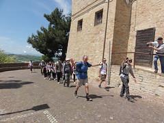 Walkers reach Montelparo