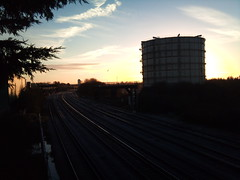 Sunny Start (71B / 70F ( Ex Jibup )) Tags: wood abandoned overgrown neglect ties concrete rust track quiet crossing silent empty clips rusty rail railway line cast points infrastructure rails disused sleeper crossings ballast sleepers turnouts trackbed fastenings fishplates pandrol perminentway
