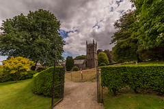 Lanhydrock Church (trevorhicks) Tags: trees sky house church grave clouds canon garden cornwall sigma national trust 6d lanhydrock