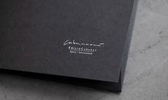 Cabanaem (El Calotipo) Tags: design identity businesscards silkscreen letterpress diseño identidad serigrafía