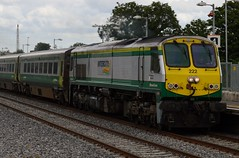 222 River Dargle 1300 Dublin Cork (franburke) Tags: irishrail intercity irishrailways 201class