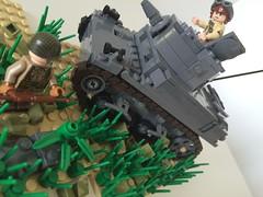 BM M3A1 Stuart (pslcraft) Tags: lego stuart m3a1 brickmania