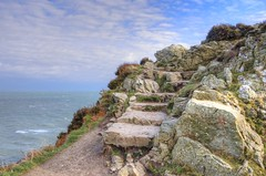 The Cliff path in Howth (rickybon) Tags: howth dublin ireland landscape sea ocean hdr hcsm greatphotographers infinitexposure simplysuperb pentaxk5 photomatix pentaxflickraward pentaxart k5 riccardobonelli rickybon