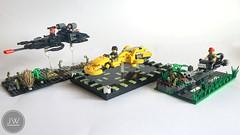 LSB - Lego Speeder Bikes (jarekwally) Tags: lsb lego speeder bikes wallyjarek aventador jarekwally moc brickie zbudujmyto lugpol chrome