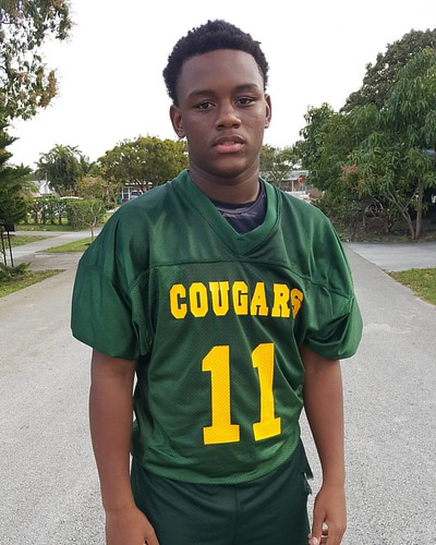 DT looking like he ready to play for the K!!! #flagfootball #crystallake #broward