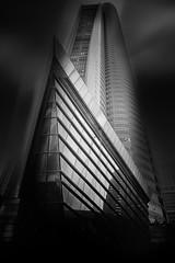 ... shipahoy ... (*ines_maria) Tags: panasonicdmcgx8 monochrome mono blackandwhite bn bw sky pov lookingup skyscraper architecture city urbanart urban uae dubai