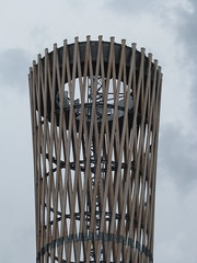 Stratford tower sculpture (Granpic) Tags: london stratford urbanstreets sculpture towersculpture latticetower eastlondon