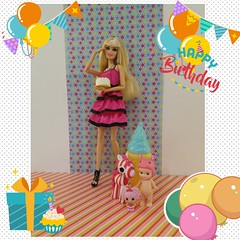 Happy Birthday Barbie !!! #barbie #birthday #gaygeek #dollcollector #joyeux_anniversaire (Tritonixx) Tags: gaygeek dollcollector birthday joyeuxanniversaire barbie