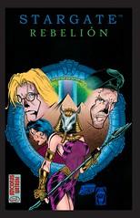 Portada 1 (Ediciones Watashi) Tags: stargate rebelión película cómic secuela jack oneill daniel jackson kasuf skaara shauri abydos hathor