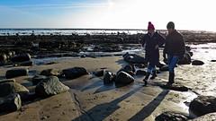 Chatting (Halfbike) Tags: alnmouth beachwalking seaside lumixgh4
