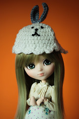 Can I has this hat? (Rutil) Tags: bunny green hat olive fairy pullip leeke leekeworld victorique fairyolive