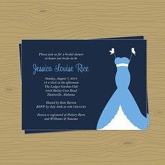 modern twist (rocketgirls) Tags: shower san francisco invitation bridal