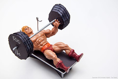 He-Man Gets in Shape (EnvisionDigital) Tags: tn may 365 weight heman barbell 52 mastersoftheuniverse 2013 envisiondigital