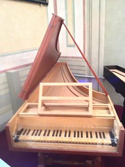 very old spinnet, piano-forte (David McSpadden) Tags: photostream pianoforte uffizimuseum