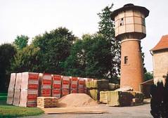 Depósito de agua materiales de construcción. Falsburgo, 2000
