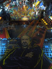 Pinball Museum (Doctor Who detail - The Master) (tennisbear) Tags: doctorwho drwho themaster pinballmachines pinballmuseum