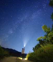 Looking up at the Starry Sky (Phebe Pan) Tags: earthandspace peopleandspace competition:astrophoto=2013