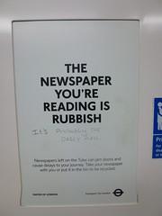 Sign in London Underground train (with graffiti addition) (John Steedman) Tags: uk greatbritain england london sign train underground subway unitedkingdom tube grossbritannien ロンドン 伦敦 イギリス 英國 grandebretagne イングランド 英格兰 グレートブリテン島 大不列顛島