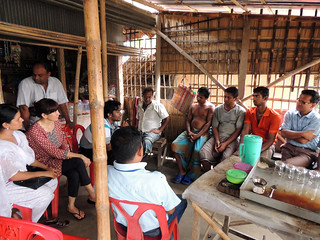 Participatory approach in Khulna, Bangladesh. Photo by Md Mahabubur Rahman, 2013.