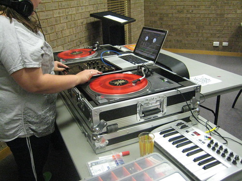 Yound Adult DJ Workshop by Campbelltown City Council, on Flickr