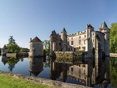 Montesquieu's Château de la Brède (Bob Radlinski) Tags: travel france europe aquitaine montesquieu labrède châteaudelabrède