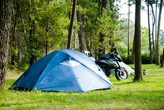 Spain_Bike trip_104 (jjay69) Tags: camping camp tents spain europe outdoor north lifestyle gear tent supermoto ktm equipment teepee northface smt campsite northernspain smalltent roadrunner22 spanishmainland