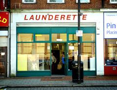 Launderette Wallington (buckaroo kid) Tags: uk london with laundry shopfront wallington londonist a laundrettelaunderette hrefhttpwwwpixsycomprotected pixsya