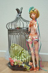 Journe chez MM (Purple  Enma) Tags: france art angel ball doll artist dolls egg super sd sue bjd resin toulouse dollfie dentelle noi marmite mm jointed