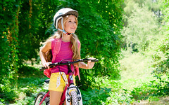 Children girl riding bicycle outdoor in forest smiling (burhanahmed_91) Tags: park pink trees summer vacation portrait people mountain holiday cute green nature girl beautiful beauty smile childhood bike bicycle sport horizontal female forest children relax fun happy person kid spring spain woods child ride natural little outdoor expression small helmet young lifestyle happiness riding human blond backpack leisure excursion active caucasian