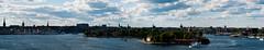 Stockholm panorama (Mange J) Tags: old cruise sky panorama church water skyline museum sailboat boat ship pentax sweden stockholm crane sverige oldtown skeppsholmen saltwater archipelago djurgården sailship wasa k7 tamron70300 kastellholmen saltsjön djurgårdenferry ånedinlinjen pentaxk7 magnusjakobsson 43mpix