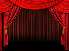 Red On Stage Theater Drapes (shadowsaintonge) Tags: show light music cinema public movie dance concert opera comedy theater play graphic audience theatre background stage curtain performance arts broadway entrance culture dramatic recital velvet announcement entertainment seats orchestra acting actor production backdrop curtains classical cloth elegant drama drapes act auditorium theatrical tassle admission archiitecture cinemarender