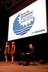Acte de Graduació 2009/2010