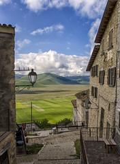 Castelluccio (Fil.ippo) Tags: panorama landscape town nikon filippo umbria norcia castelluccio piangrande d7000 filippobianchi