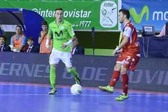 Inter Movistar vs Santiago Futsal (4-1) (Inter Futbol Sala) Tags: sala futbol inter futsal movistar cajamadrid pabellón lnfs