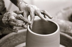 Spinn (Golly Jeeze) Tags: hands ceramics pot pottery process throwing
