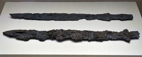 Iron swords from Aiane, loc. Leivadia