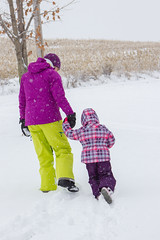 Sled Riding 2013-2 (TheDarrenSharp) Tags: winter evelyn bern 3yearsold sledriding