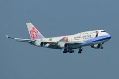 China Airlines   B747-409   B-18203 (Globespotter) Tags: china jimmy special hong lap airlines intl kok livery b18203 b747409 kongchek