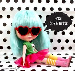 Ninette, mi Wendy Weekender (Emily´s Dolls) Tags: heart blythe wendy weekender