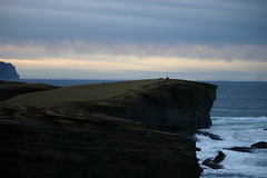 Yesnaby (Owen H R) Tags: sunset sea sky evening orkney waves cliffs 2014 yesnaby owenhr