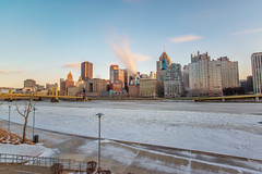 Wide angle long exposure of the Pittsburgh and an icy Allegheny River (Dave DiCello) Tags: snow nikon pittsburgh northshore alleghenyriver pittsburghskyline d600 steelcity robertoclementebridge andywarholbridge pittsburghwinter bridgesinpittsburgh pittsburghinthesnow pittsburghrivers winterinpittsburgh snowinpittsburgh davedicello pittsburghpictures picturesofpittsburgh pittsburghskylinepictures pittsburghalleghenyriver pittsburghice icepittsburghrivers icyalleghenyriver pittsburghinthewinter winterpicturesofpittsburgh